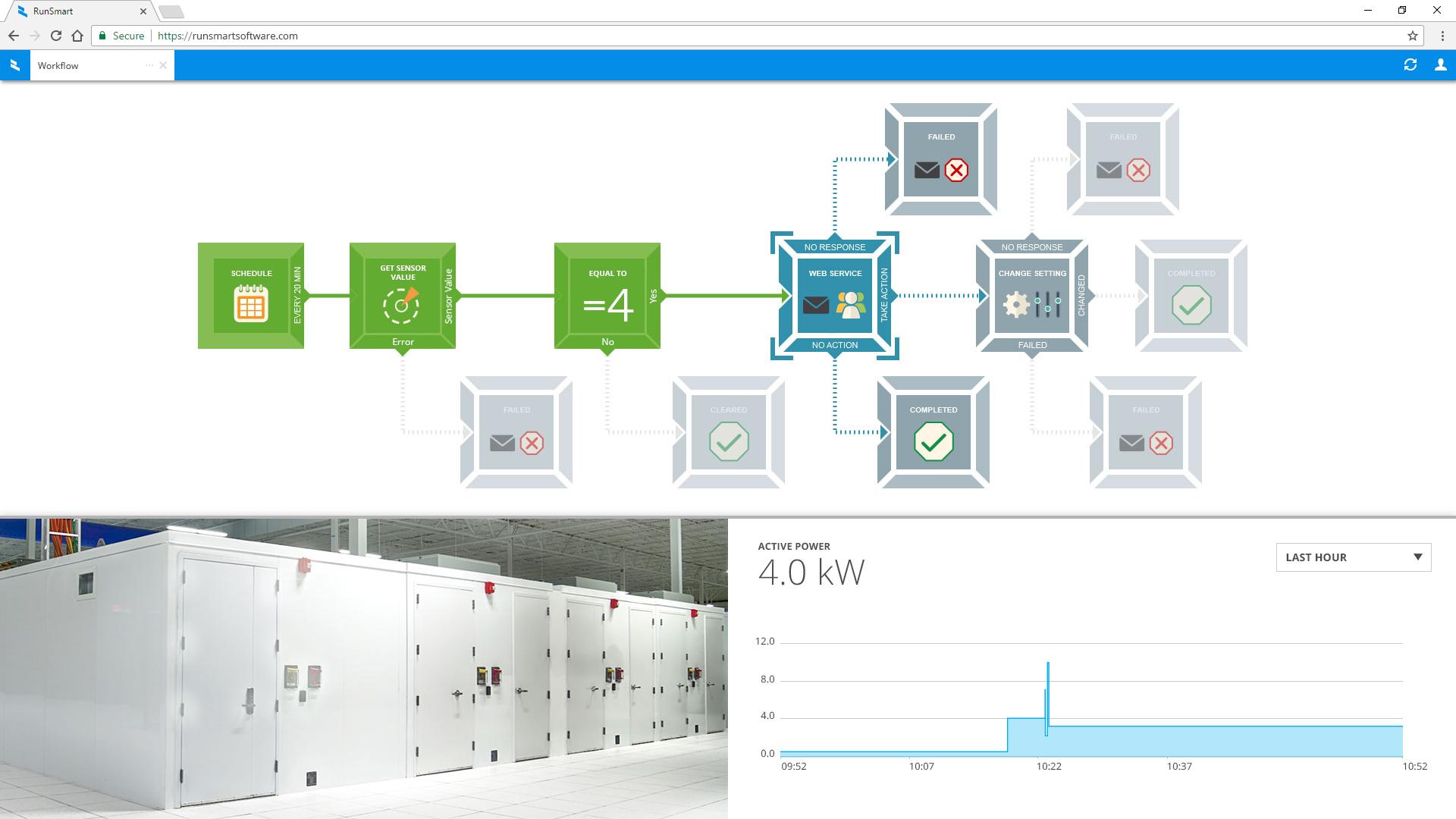 Customer Visual Workflow Example